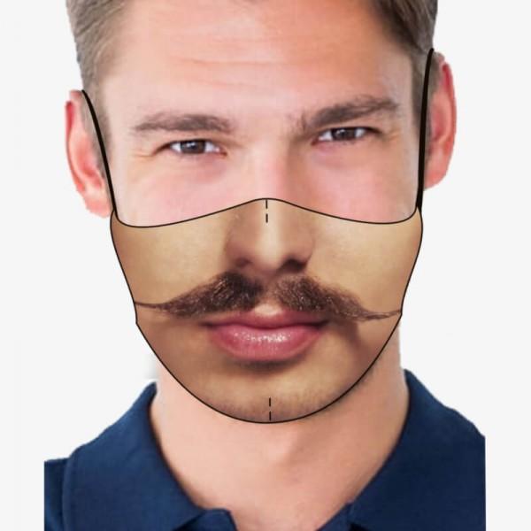 """Mund- und Nasenmaske """"Moustache"""""""