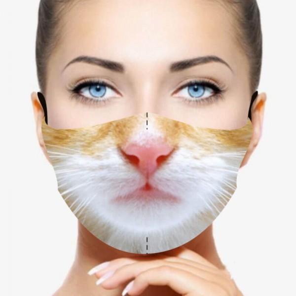 """Mund- und Nasenmaske """"Cat"""""""